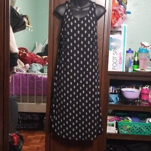 Old Navy Flowy Black Dress
